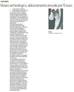 Repubblica cartaceo locale. 27 novembre